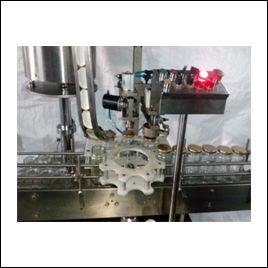 Fully Automatic Single Head Lug Capping Machine