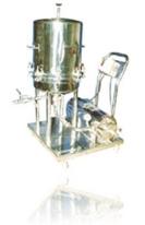 Machines In Pharmaceuticals Ribbon Blander Storage